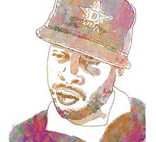 J Dilla Marble Effect by jlillustration