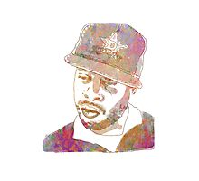 J Dilla Marble Effect Photographic Print