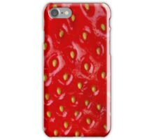 Strawberry - Macro Series iPhone Case/Skin