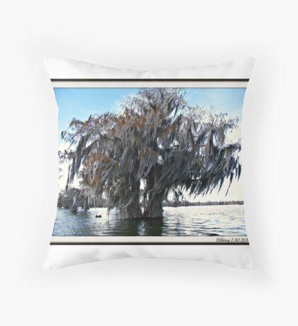 Double Cypress Throw Pillow