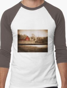 Tranquil  Men's Baseball ¾ T-Shirt