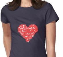 Pixel Love Womens Fitted T-Shirt