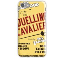 "Singin' in the Rain - ""The Duelling Cavalier"" (Revisited) iPhone Case/Skin"