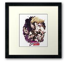 JoJo's Bizarre Adventure - Dio Brando Japanese Logo Framed Print
