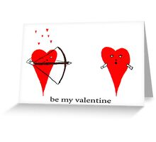 be-my-valentine Greeting Card