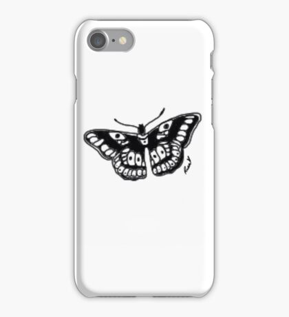 Butterfly Tattoo iPhone Case/Skin