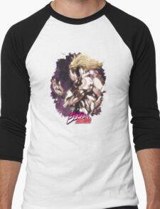 JoJo's Bizarre Adventure - Dio Brando Japanese Logo Men's Baseball ¾ T-Shirt