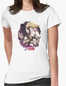 JoJo's Bizarre Adventure - Dio Brando Japanese Logo Womens Fitted T-Shirt