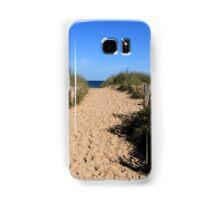 Chestnut Fence To The Beach Samsung Galaxy Case/Skin