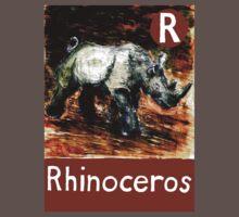 R is for Rhinoceros T-Shirt