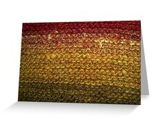 Woollen Sunset Greeting Card