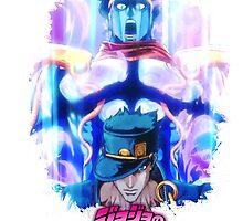 JoJo's Bizarre Adventure - Jotaro Kujo Japanese Logo by Onimihawk