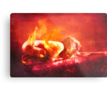 Born From Fire Metal Print