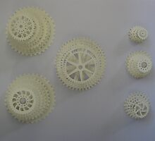 mixed stacked gears by icetealover