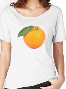 Orange Women's Relaxed Fit T-Shirt