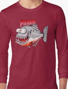 Happy Fish - Piranha Long Sleeve T-Shirt