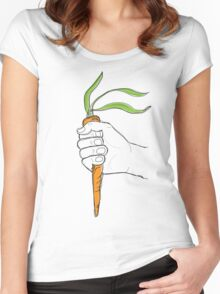 Veggies Unite Women's Fitted Scoop T-Shirt