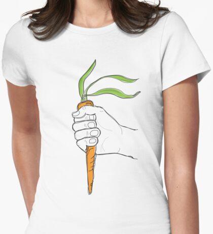 Veggies Unite Womens Fitted T-Shirt