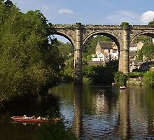 The Bridge,	 Knaresborough, England by tonymm6491