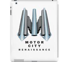 Detroit Motor City Renaissance iPad Case/Skin