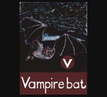 V is for Vampire bat by DavidDonovan