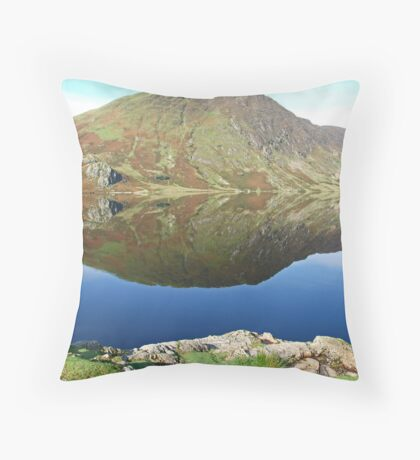 Reflections in Crummock Water Throw Pillow