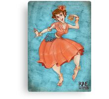 Dance with Joy Canvas Print