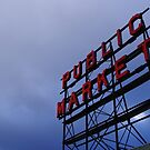 Pike Place Market by TJLewisPhoto