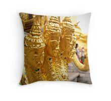 Golden Guardians  Throw Pillow