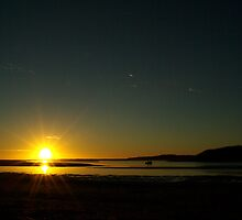 Sunseting at the Glenelg River Mouth  by Biggzie