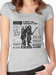 [The Hobbit] Fili & Kili - Quotes Women's Fitted Scoop T-Shirt