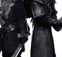 [The Hobbit] Fili & Kili - Quotes Sticker