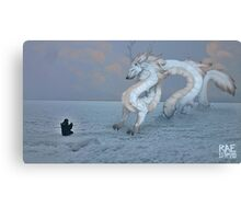 The Superior Elkwolf Monster Canvas Print