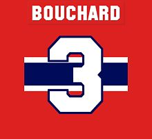 Butch Bouchard #3 - red jersey Unisex T-Shirt