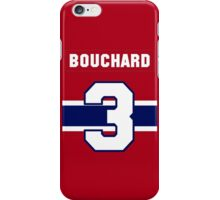 Butch Bouchard #3 - red jersey iPhone Case/Skin