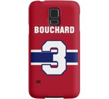 Butch Bouchard #3 - red jersey Samsung Galaxy Case/Skin