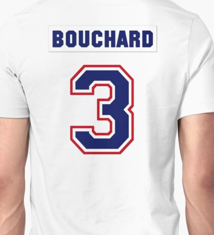 Butch Bouchard #3 - white jersey Unisex T-Shirt