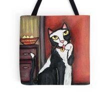 Tux Cat Cleaning Tote Bag
