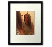 Face to Face - Two Framed Print