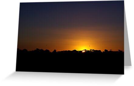 Sunset at Strathdownie by Biggzie