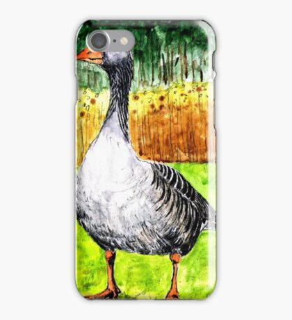 G is for Goose iPhone Case/Skin