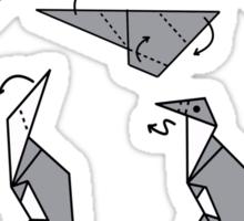 Origami Penguin Sticker