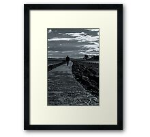 A Stroll Away Framed Print