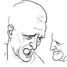 "Reproduction of LEONARDO da Vinci's ""Head studies"". by YourSuccess"