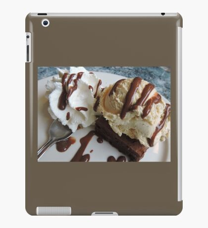 Annette's Brownie and Ice Cream  iPad Case/Skin