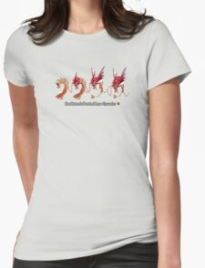 How Mega-Gyarados was Created Womens Fitted T-Shirt