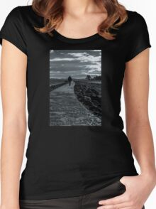 A Stroll Away Women's Fitted Scoop T-Shirt