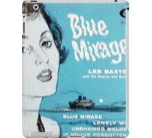 Les Baxter Blue Mirage ep cover iPad Case/Skin