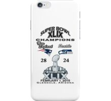 Super Bowl XLIX Champions iPhone Case/Skin