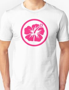 Pink hibiscus Unisex T-Shirt